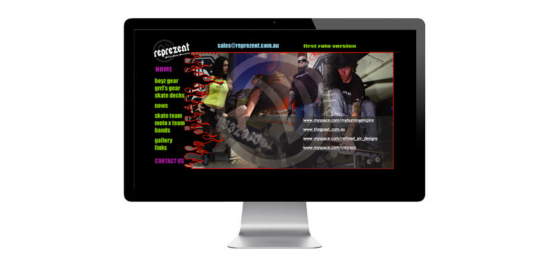 Reprezent website