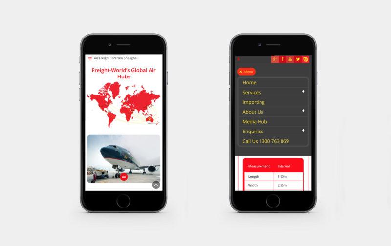Freight World website