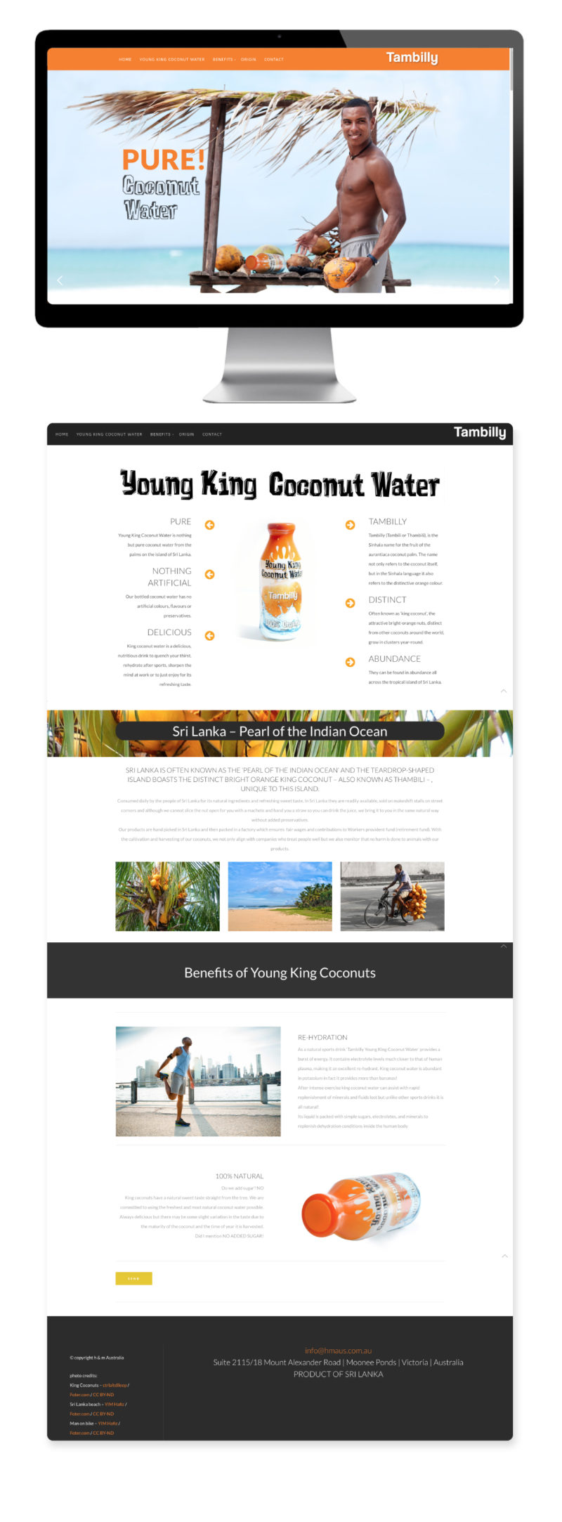 Tambilly King Coconut Water