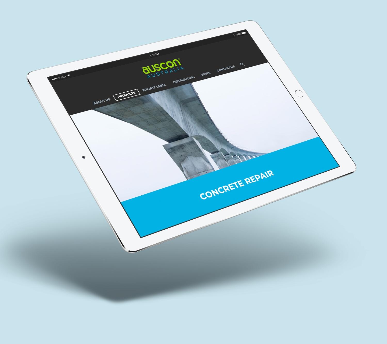 Auscon responsive web design