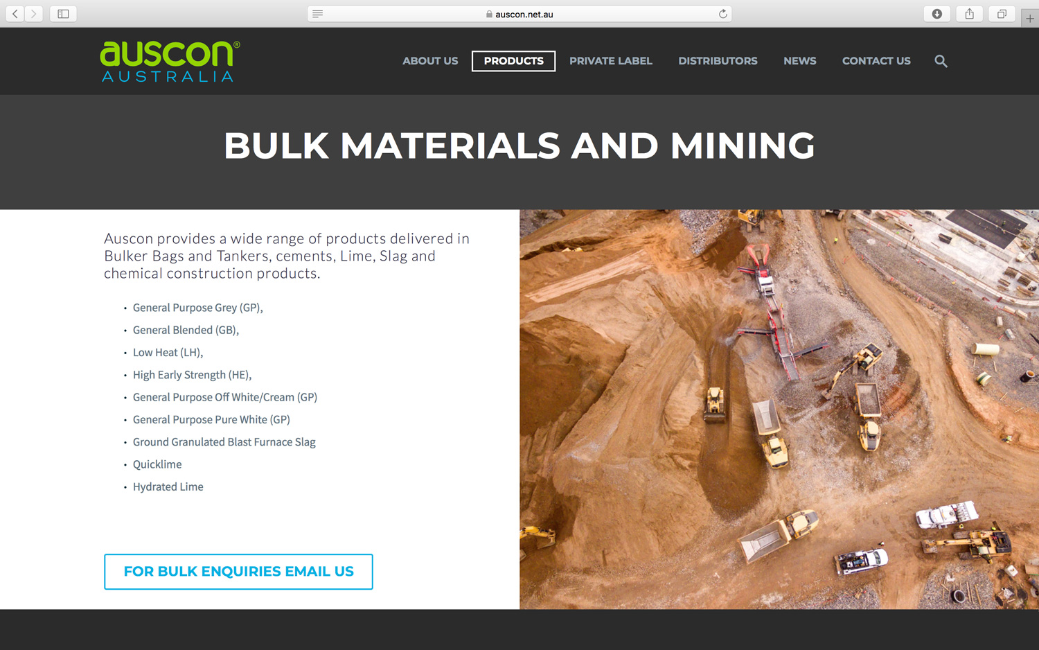 Auscon Bulk material and mining